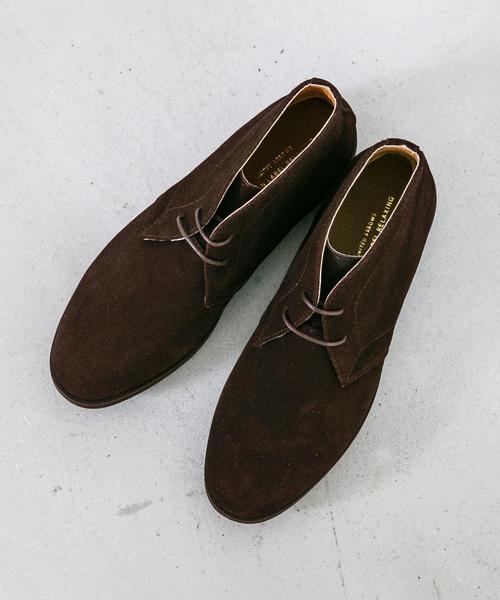 SC GLR スエード チャッカ ブーツ ◆