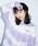 X-girl(エックスガール)の「TIE DYE LAYERED SWEAT HOODIE(パーカー)」 詳細画像