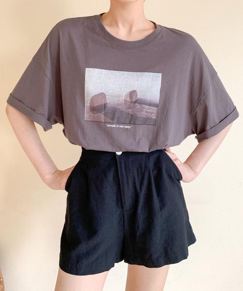 【chuclla】【2020/SS】フォトグラフィックTシャツ chw1203