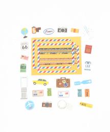 studio CLIP 生活雑貨(スタディオクリップ セイカツザッカ)の「デコラップペーパー(ステッカー/テープ)」