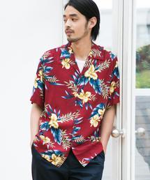 [ツーパームス] SC TWOPALMS HAWAII R アロハ 半袖 オープンカラー ハワイアンシャツ