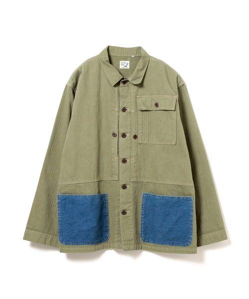 orSlow × fennica / 別注 後付けポケット カバーオール <MEN>