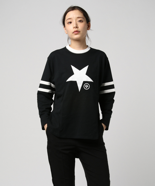 【CONVERSE TOKYO/コンバーストウキョウ】フットボールTシャツ #A2891UTS421