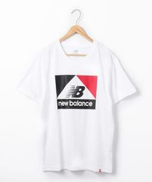 New Balance(ニューバランス)アスレチックアーカイブプリントTシャツ