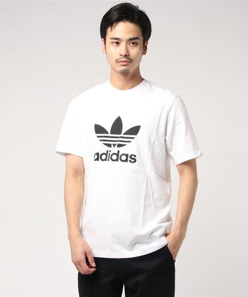 adidas Originals(アディダスオリジナルス)の「adidas Originals/アディダス オリジナルス TREFOIL TEE/トレフォイル Tシャツ(Tシャツ/カットソー)」 ホワイト