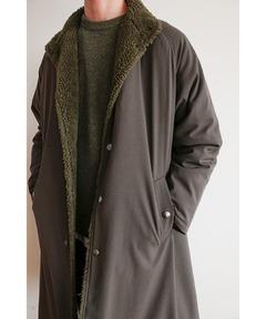 クラネ オム CLANE HOMME / スタンドカラー ロングコート STAND COLLAR LONG COAT
