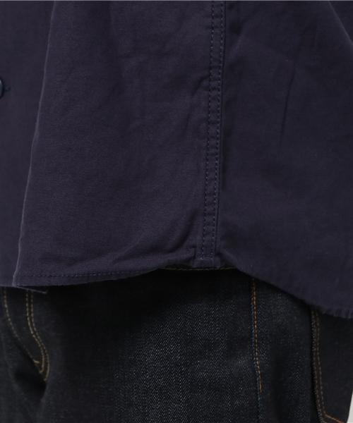 【HOUSTON】刺繍ミリタリーシャツ