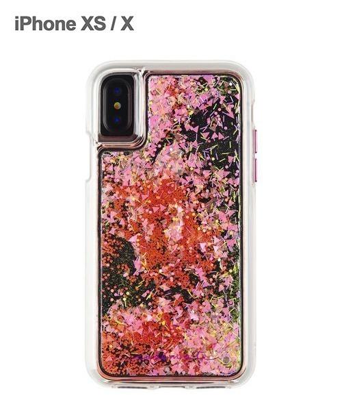 e1ce7831c8 Case-Mate(ケースメイト)のiPhoneXS/X Case-Mate Waterfall キラキラ