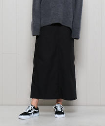 <H>BACK SATIN MAXI SKIRT/スカート