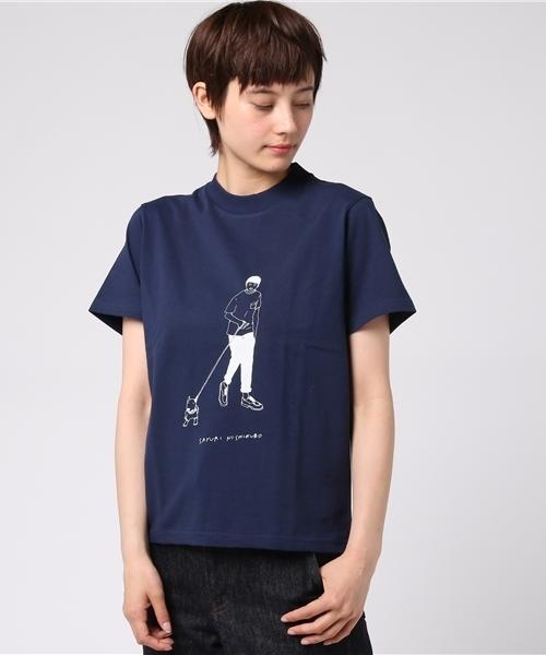 <L&HARMONY / エルアンドハーモニー>sayurinishikubo Tシャツ 'Boy'