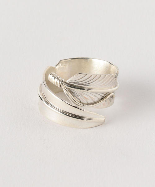 <CHRIS CHARLEY> FEATHER RING/リング