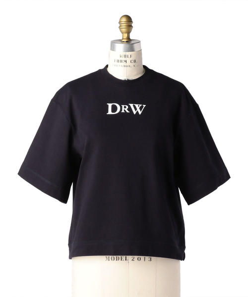Drawer プリントエンブレムTEE