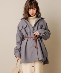 natural couture(ナチュラルクチュール)のフェイクウールCPOジャケット(その他アウター)