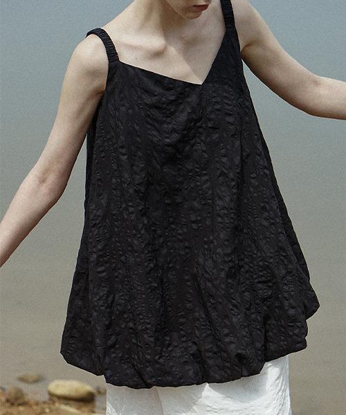 【Leonora Yang】Balloon camisole tops chw1499