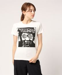 THE CRAMPS/HUMAN FLY プリント Tシャツ