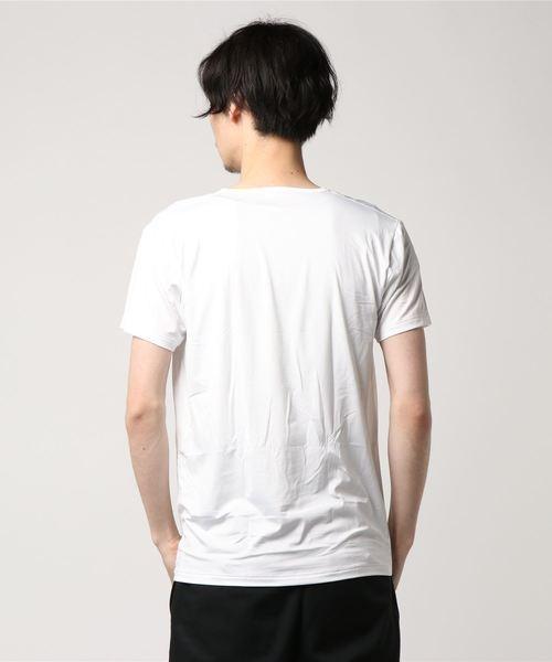 タカキューメンズ / TAKA-Q:MEN   COOLEXCEEDスタイリッシュTシャツ(白)