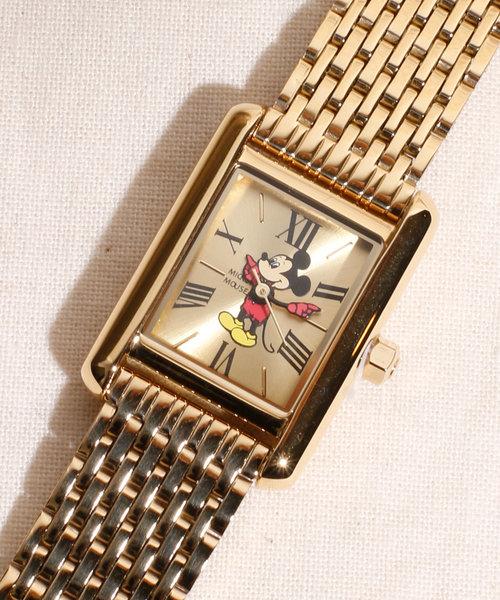 【25%OFF】 TIMEX/タイメックス Disney ミッキーウォッチ MTW-GLD, セレクトショップ クオン 786f5c59