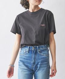 MAISON DE REEFUR(メゾンドリーファー)のエンブロイダリー Tシャツ(Tシャツ/カットソー)