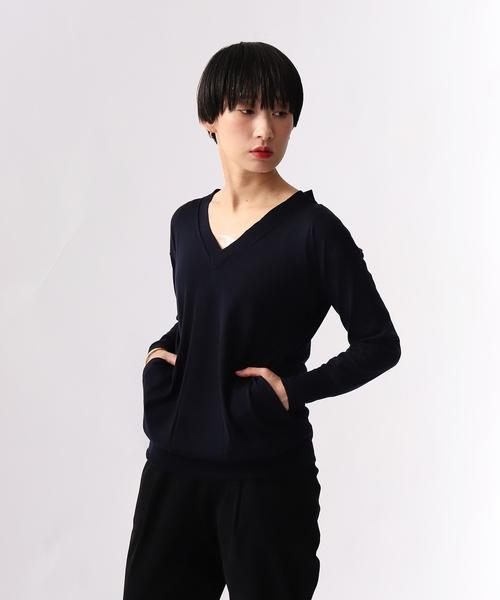 大好き 【セール/ブランド古着】Vネックニット(ニット/セーター)|FLUID(フルイド)のファッション通販 - USED, 苫小牧市:772ee76b --- skoda-tmn.ru