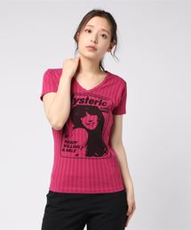 GIRL SHOW pt VネックTシャツ