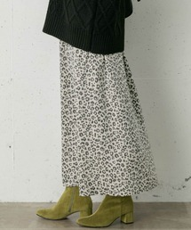 URBAN RESEARCH Sonny Label(アーバンリサーチサニーレーベル)のレオパードナロースカート(スカート)