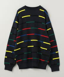 Coohem(コーヘン)COLOR BLOCK KNIT PULLOVER