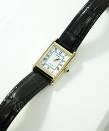 【 SEIKO / セイコー 】スクエア アナログ ソーラー腕時計  SUP250/SUP252 DKSブラック