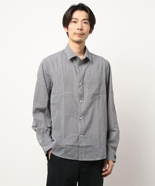 Cotton Voile Check Shirt