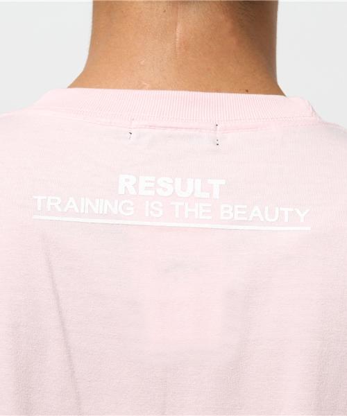 【RESULT/リザルト】PUSH-UP T-SHIRTS/Tシャツ