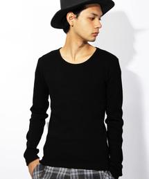 8(eight)(エイト)のシンプルな ロング Tシャツ 長袖 カットソー(Tシャツ/カットソー)