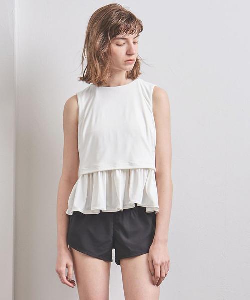 <TAARA clothing(タアラ クロージング)>ラッフル タンクトップ