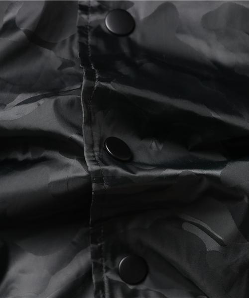 3Dパターン カモフラージュ テック ナイロン コーチジャケット