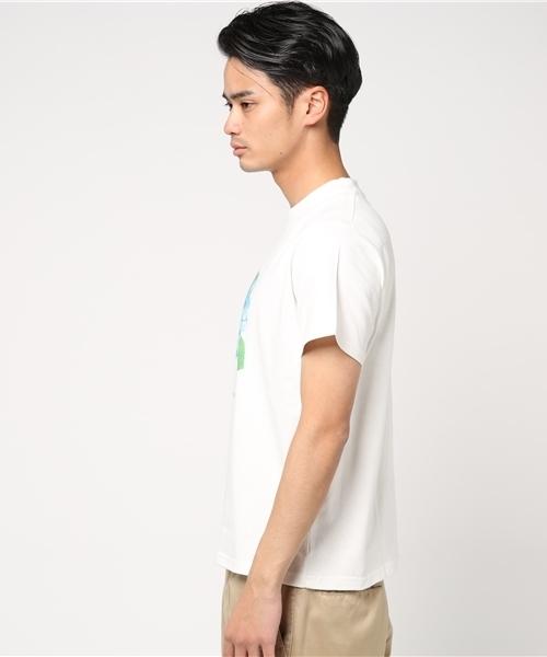 [L&HARMONY / エルアンドハーモニー] Asami Hattori フラワープリントTシャツ 'Ajisai'