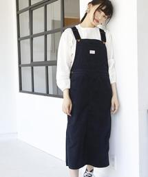 SMITH(スミス)コーデュロイジャンパースカート ( サロペットスカート )