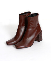 marjour(マージュール)の[NewColor]ECO LEATHER SHORT BOOTS(ブーツ)