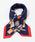 Paradise Picnic(パラダイスピクニック)の「【WEB限定】ハイヒール&バッグシルクミニスカーフ(バンダナ/スカーフ)」|ネイビー