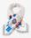 Paradise Picnic(パラダイスピクニック)の「【WEB限定】ハイヒール&バッグシルクミニスカーフ(バンダナ/スカーフ)」|ホワイト