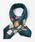 Paradise Picnic(パラダイスピクニック)の「【WEB限定】ハイヒール&バッグシルクミニスカーフ(バンダナ/スカーフ)」|グリーン