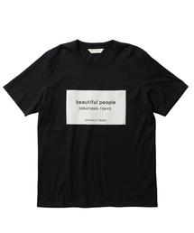 beautiful people(ビューティフルピープル)の【beautiful people】《STUDIOUS別注》ソフトジャージービッグネームTシャツ 1885310071(Tシャツ/カットソー)