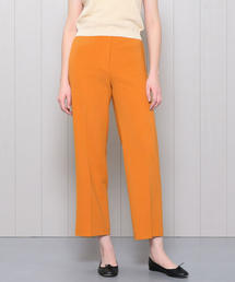 <H>DOUBLE CLOTH WIDE TAPERED PANTS/パンツ