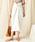DouDou(ドゥドゥ)の「カイトスカート(スカート)」|オフホワイト