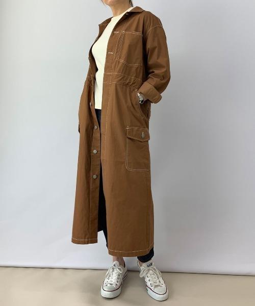 新作からSALEアイテム等お得な商品満載 BROOKLYN比翼明きワンピース(ワンピース)|BROOKLYN OVERALL(ブルックリンオーバーオール)のファッション通販, カミフクオカシ:18a7e7de --- ulasuga-guggen.de