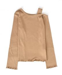 w closet(ダブルクローゼット)のオフショルダーメロウプルオーバー(Tシャツ/カットソー)