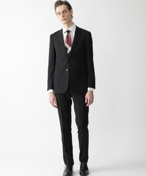【楽ギフ_のし宛書】 ブラックソリッドスーツ(セットアップ) BLACK BLACK LABEL LABEL LABEL CRESTBRIDGE(ブラックレーベル・クレストブリッジ)のファッション通販, 梱包資材のK-MART:4872bb9e --- wiratourjogja.com