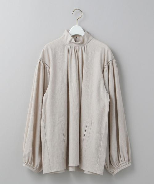 <6(ROKU)>GATHER VOLUME BLOUSE/ブラウス