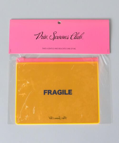 <Priv. Spoons Club>FRAGILE POUCH/ポーチ