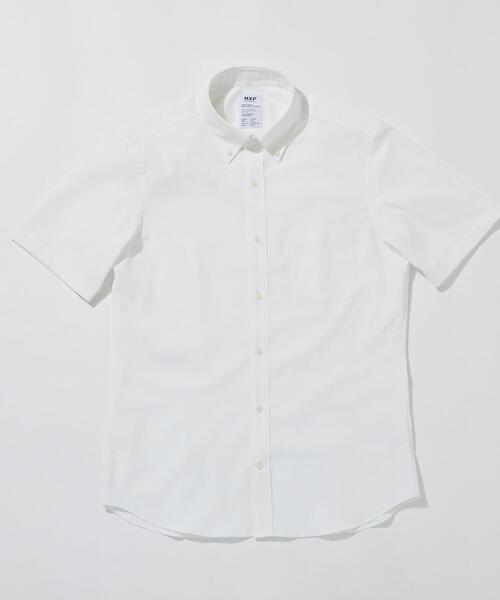 <MXP(エムエックスピー)> 【別注】 オックスフォード ボタンダウン ショートスリーブシャツ