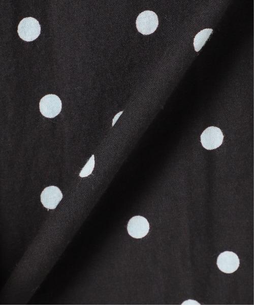 La TOTALITE(ラトータリテ)の「《追加》ドットフリルスリーブVネックワンピース【手洗い可能◆(ワンピース)」|詳細画像