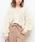 natural couture(ナチュラルクチュール)の「ふんわりショートケーブルカーディガン(カーディガン/ボレロ)」|詳細画像