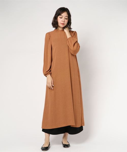 LILIMEEK/リリミーク dot pattern dress 18AOP-09